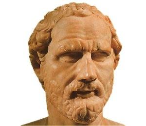 """Demóstenes también quiso usar vaqueros rotos en el """"cole"""", pero el licenciado Guachamín lo amenazó con un cero en conducta si lo hacía."""