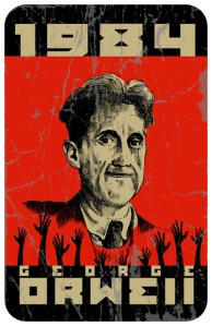 George Orwell no era vidente, pero sabía lo que le esperaba al mundo.