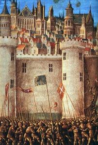 EL sitio de Antioquía. La obsesión de los cruzados era tomar vino y no comer ratas.