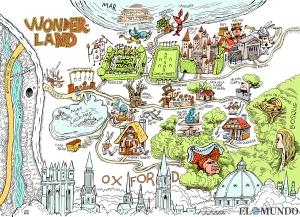 El mapa del mundo de Alicia. Descárguelo gratis aquí.