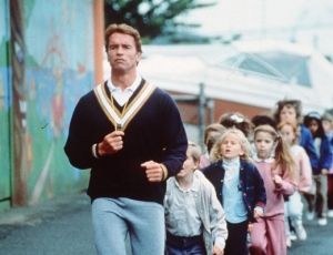 Arnold antes de quedar obeso por comerse todo el estado de California.