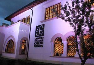 Centro Cultura Caros Fuentes de Quito. Fotografía de Notimex.