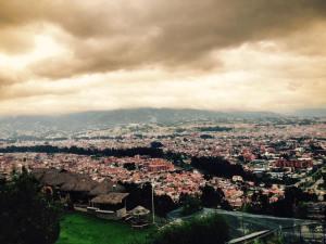 Cuando Cuenca se lo propone puede ser más fría que el Chimborazo.