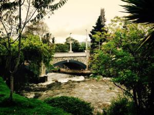 Como Cuenca tiene cuatro ríos, usted podrá hallar muchos puentes (incluso uno roto).