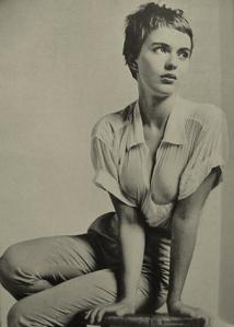 """Jean Seberg también fue la protagonista de """"Diana o la cazadora solitaria"""", una autobiografía novelada de Carlos Fuentes, quien fue su amante por un tiempo en México..."""