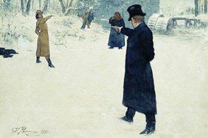 Los duelos en Rusia, antes, tan populares; hoy, solo los practica Yugi Oh!