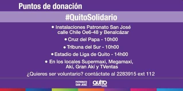 voluntarios Quito