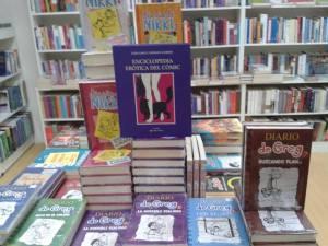 Siempre se debe ordenar con lógica (sexual) una librería (¿?)...