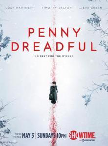 Imagen para promocionar Penny Dreadful de Showtime.