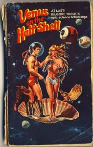 Una de las novelas de Kilgore Trout (¡imposible hallarla en Quitolandia!).