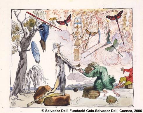 Toledo, 12-09-2006.- Imagen de una de las obras que componen la exposición sobre Dalí que se inaugura mañana en Cuenca. ©Salvador Dalí, Fundació Gala-Salvador Dalí, Cuenca, 2006